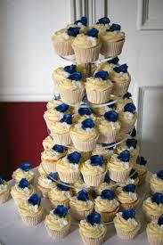 wedding cake royal blue royal blue flower st 3 tier wedding cake 2 bakealous
