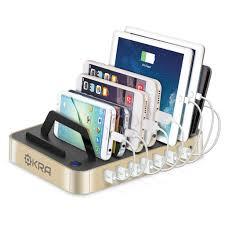 Charging Station Desk 7 Port Hub Usb Desktop Universal Charging Station Multi Device