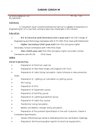 Professional Electrical Engineering Resume Download Electrical Engineer Power Systems In Usa Resume Yashpal