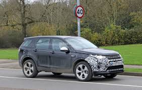 land rover discovery sport spyshots 2019 land rover discovery sport has makeshift fuel