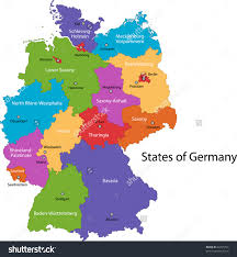 map of germany showing rivers stylized map of germany showing states rivers and big cities city