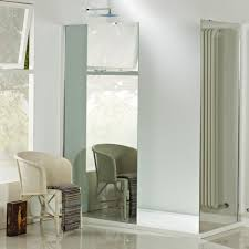 vision 8mm wet room mirror glass panel 900mm wide bathrooms