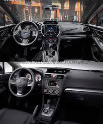 subaru crosstrek 2017 interior 2017 subaru impreza sedan vs 2011 subaru impreza sedan