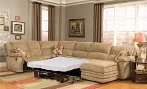 Leather Sectional Sofa Sleeper Wonderful Sectional Sleeper Sofa With Recliners Leather Sectional
