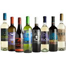 halloween goblets glowing halloween slapsticker wine bottle labels mb m36227 by