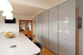 bespoke kitchen designers engineered high gloss handleless kitchen concept interiors