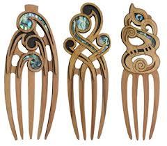 heru wooden ornamental hair comb aeon giftware shop new zealand