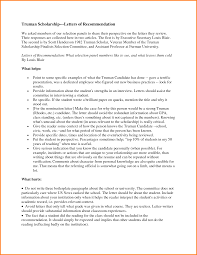 10 recommendation letter for student scholarship sample quote