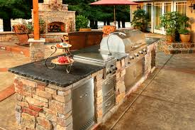 outdoor kitchen idea custom semi custom outdoor kitchens galaxy outdoor