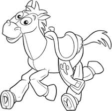 coloring pages bullseye toy story coloring pages ideas