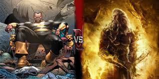 film god of war vs zeus user blog monkey doctor 33 black adam new earth vs zeus god of