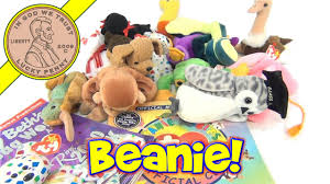 ty beanie babies plush toys lot membership kit mary beth u0027s bean
