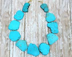 jewelry necklace turquoise images Turquoise necklace etsy jpg