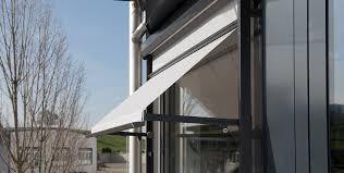 Aluminium Window Awnings Drop Arm And Window Awnings Stobag Sonnen Und Wetterschutz