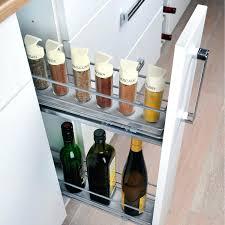 rangement pour meuble de cuisine rangement coulissant meuble cuisine rangement coulissant epices et