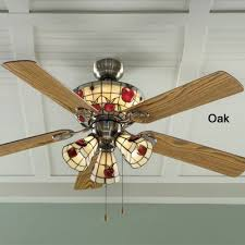 hunter fairhaven ceiling fan stained glass ceiling fan light kit attractive apple from seventh