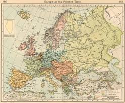 Map Eastern Europe Europe Historical Maps Perry Castañeda Map Collection Ut