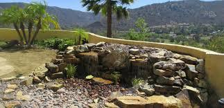 Backyard Pondless Waterfalls by Pondless Waterfall Designs In El Cajon Of San Diego County