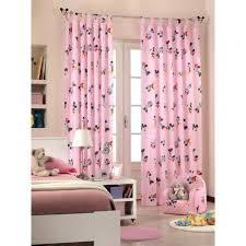rideaux de chambre rideau fille achat vente pas cher rideau disney minnie rideau pour