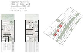 arada anber townhouses floor plans