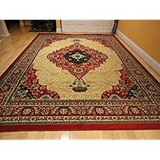 Red Washable Rug Amazon Com Luxury Traditional Red Persian Rug Red Small Rugs For