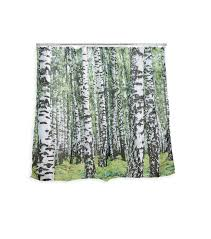 birch wood halloween background amazon com kikkerland shower curtain polyester birch home
