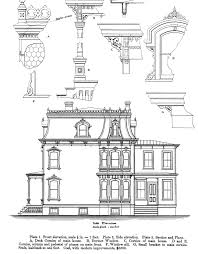 Victorian Style House Plans Architectural Styles Second Empire Pinterest Exterior