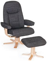 fabric swivel recliner chairs buy elano oslo fabric swivel recliner chair cfs uk