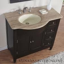 Ebay Bathroom Vanities 38 Kelston Travertine Top Bathroom Sink Vanity Center Cabinet