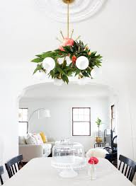 Flower Home Decoration Of Diy Floral Chandelier For Spring And Summer Home Decor 5