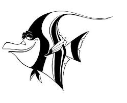 finding nemo coloring pages fish murals pinterest coloring