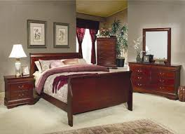 coaster bedroom set philippe 6 piece bedroom set in cherry finish by coaster 200431