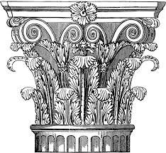ornate corinthian column image corinthian columns and graphics