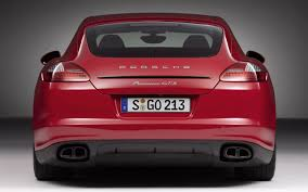 porsche panamera turbo 2017 back first drive 2013 porsche panamera gts automobile magazine