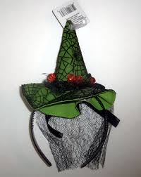 light up pumpkins for halloween up green witch mini hat tiny headband flashing pumpkins halloween