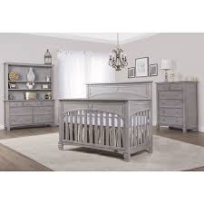 Gray Convertible Cribs by Amazon Com Evolur Santa Fe 5 In 1 Convertible Crib Storm Grey