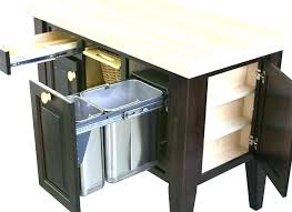 kitchen island trash island with garbage bin kitchen islands with trash bins kitchen