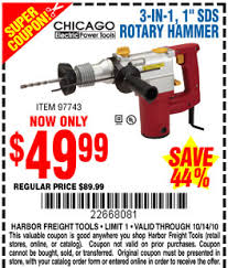 harbor freight rotary table harborfreight sds hammer drill go buy one archive the garage