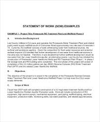 statement of work example expin franklinfire co