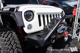 custom jeep white 2016 sema white starwood jeep jk wrangler unlimited