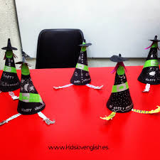 Witch Halloween Craft by