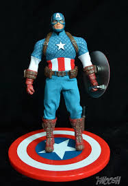 marvel thanksgiving mezco one 12 captain america standard version the fwoosh