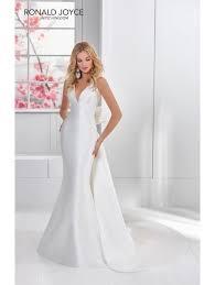 plain wedding dresses ronald joyce 69306 fabulous cut plain ivory wedding dress