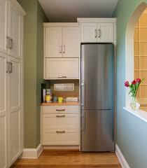 decorating dear lillie kitchen with elegant white refrigerator