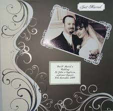 wedding scrapbooks 122 best wedding scrapbook page ideas images on