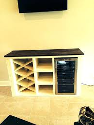 white console table door storage wine rack u2013 launchwith me