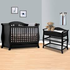 Storkcraft 3 In 1 Convertible Crib Storkcraft Black Vittoria 3 In 1 Convertible Crib And Aspen