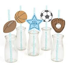 all star sports baby shower theme bigdotofhappiness com