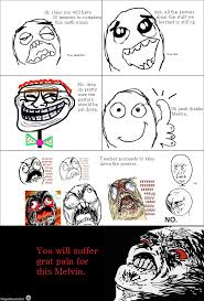Melvin Meme - ragegenerator rage comic when there is a test there s melvin