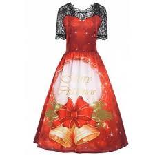 retro plus size dress online for sale gearbest com